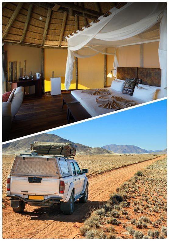 Zajezd do Namibie na míru - Comfort