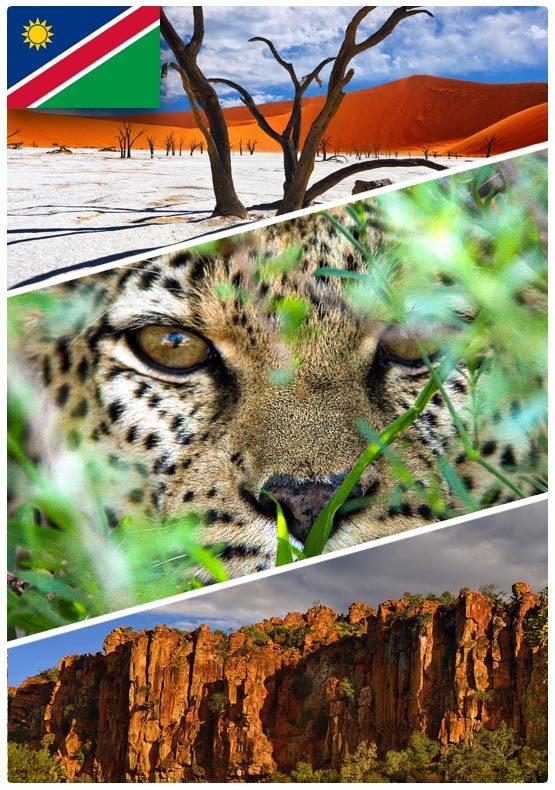 Safari dovolená v Namibii - Self Drive